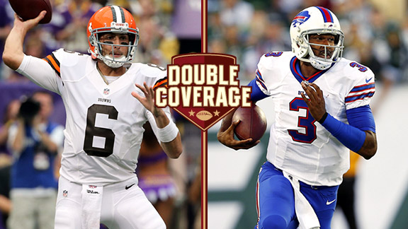 Double Coverage: Bills at Browns