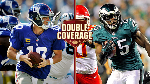 Double Coverage: Eagles at Giants