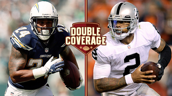 Double Coverage: Chargers at Raiders