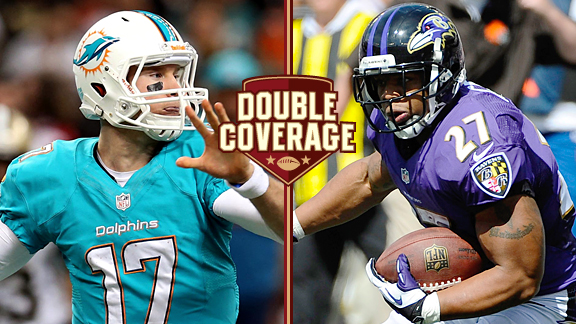 Double Coverage: Ravens at Dolphins