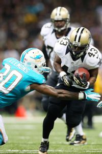Running back Darren Sproles could give the Pats problems, especially if the Saints' screen game is working.