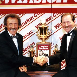 Richard Petty and Dale Earnhardt Sr.
