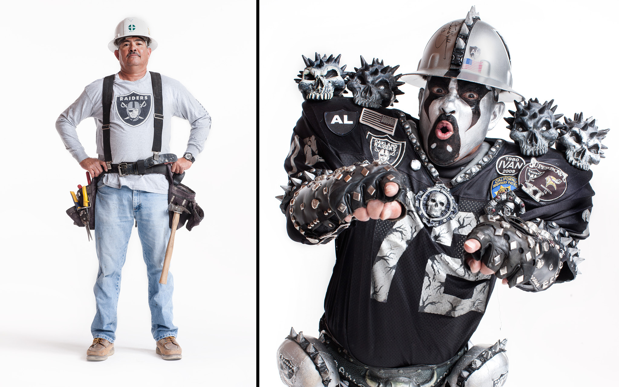 Welcome to Oakland RAIDER NATION BEHIND THE MAKEUP ESPN