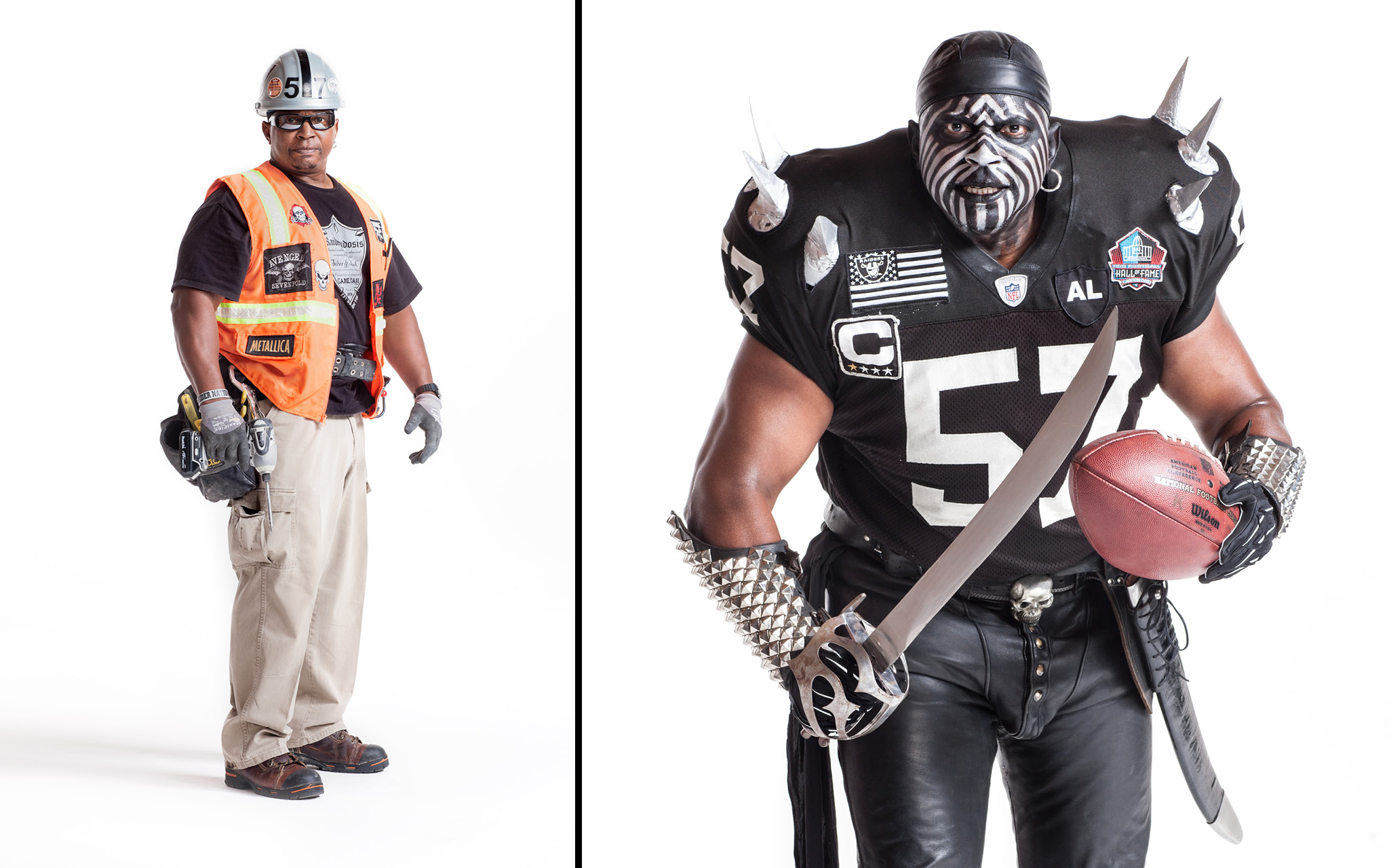 reputable site 4f0c4 344bb Welcome to Oakland - RAIDER NATION: BEHIND THE MAKEUP - ESPN