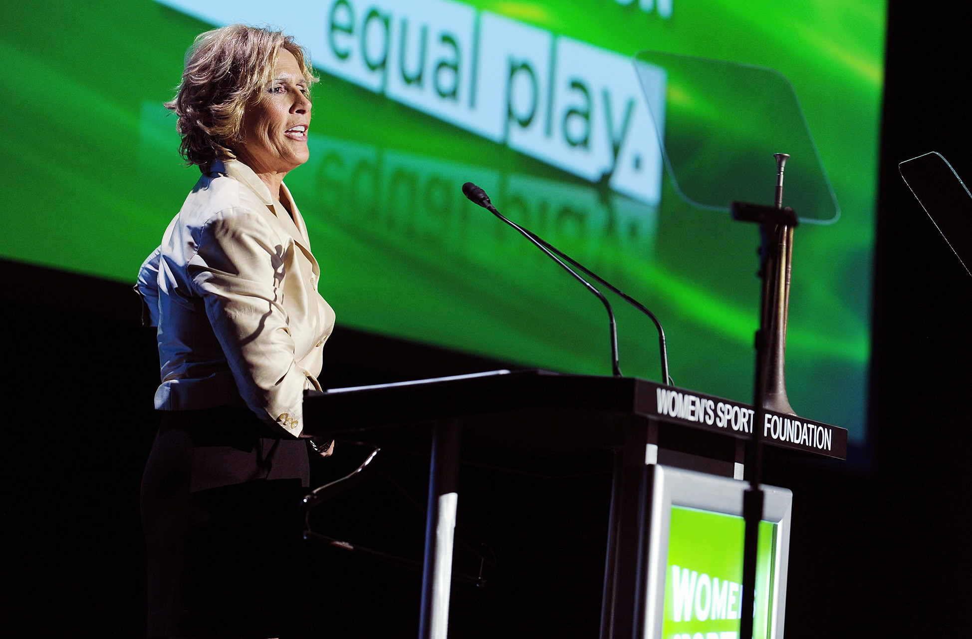 Diana Nyad is a member of the National Womens Hall of Fame and the International Womens Sports Hall of Fame. She also is a former Womens Sports Foundation trustee.