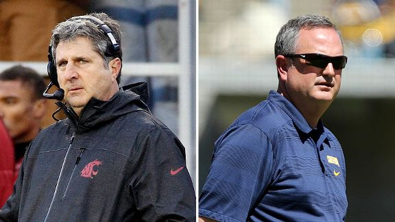 Mike Leach and Sonny Dykes