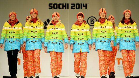 German Olympic Uniform