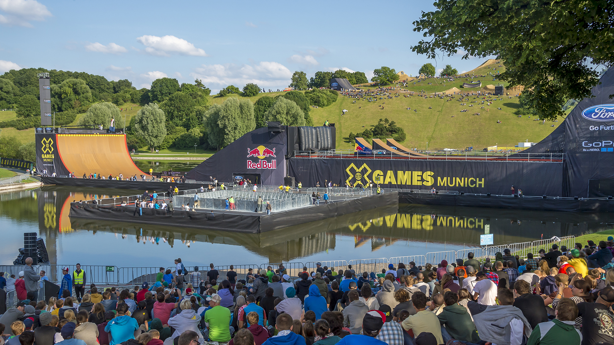 ESPN today announced it will not continue with X Games events in Barcelona, Munich, Foz do Iguau, Brazil, and Tignes, France, for 2014.