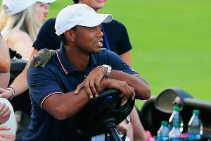 Tiger Woods, squirrel