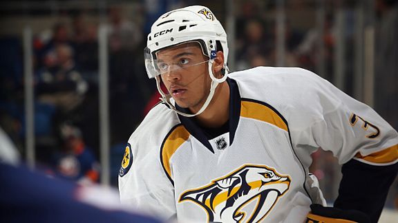 Seth Jones #3 of the Nashville Predators