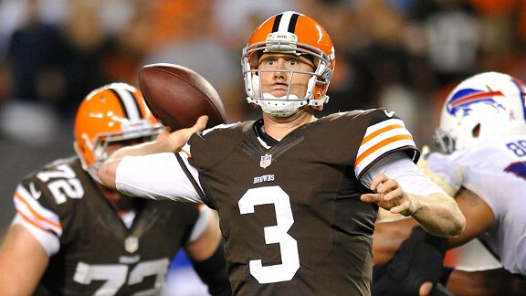 Weeden's second chance arrives