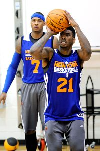 Iman Shumpert, Carmelo Anthony