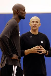 Kevin Garnett and Jason Kidd