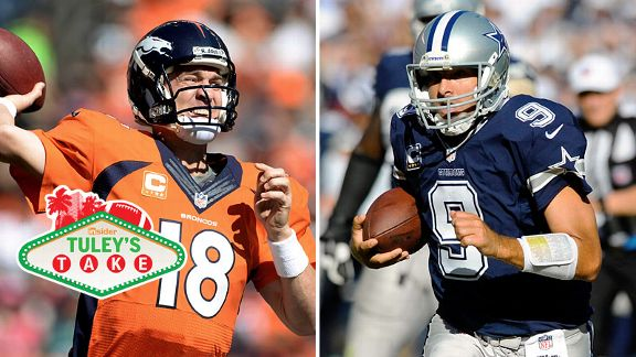 Peyton Manning and Tony Romo