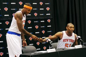 Carmelo Anthony, Metta World Peace