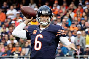 Jay Cutler leads a Bears offense that ranks No. 3 is scoring.