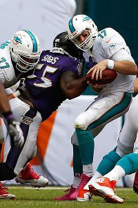 Ryan Tannehill and Terrell Suggs
