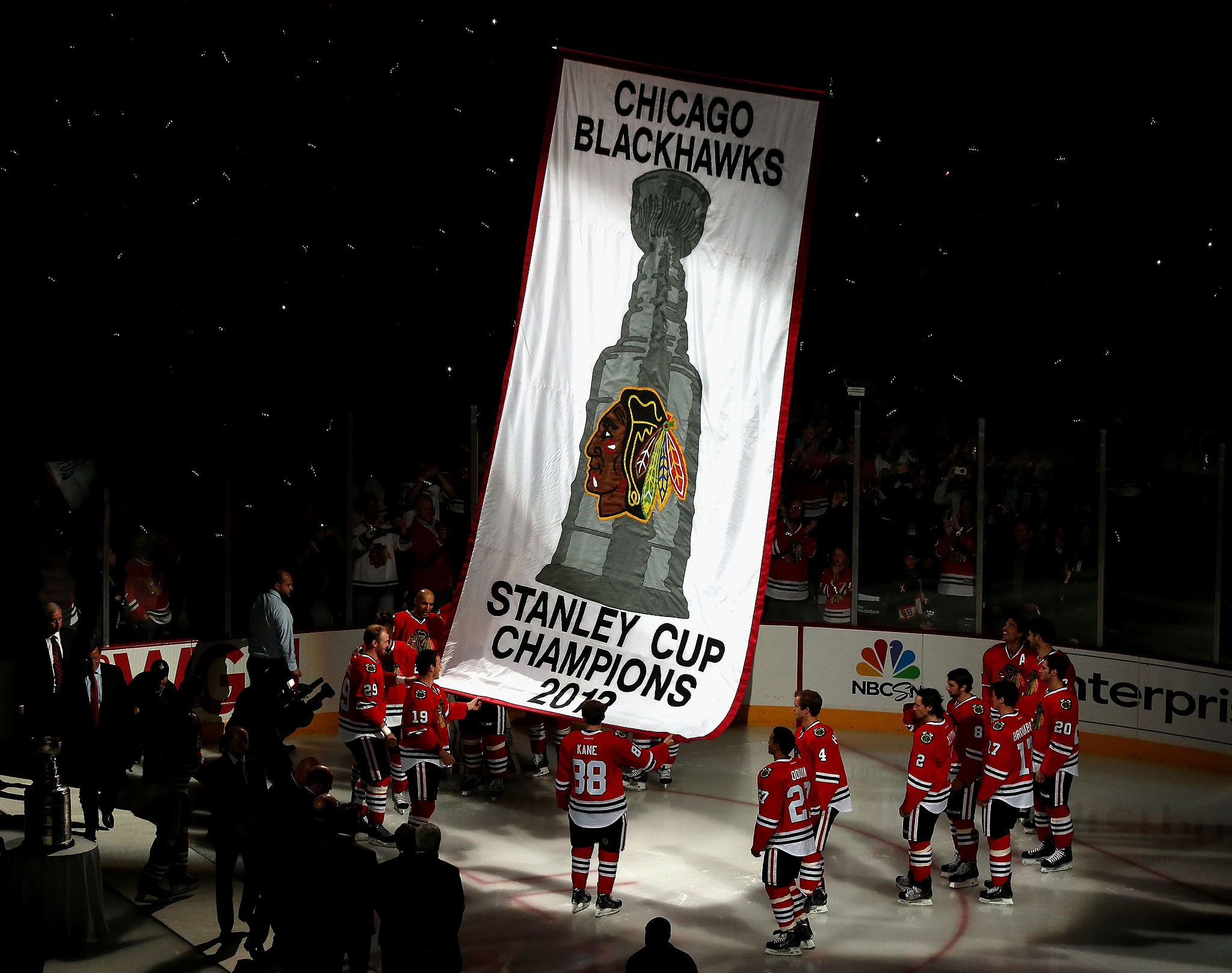 Blackhawks Banner