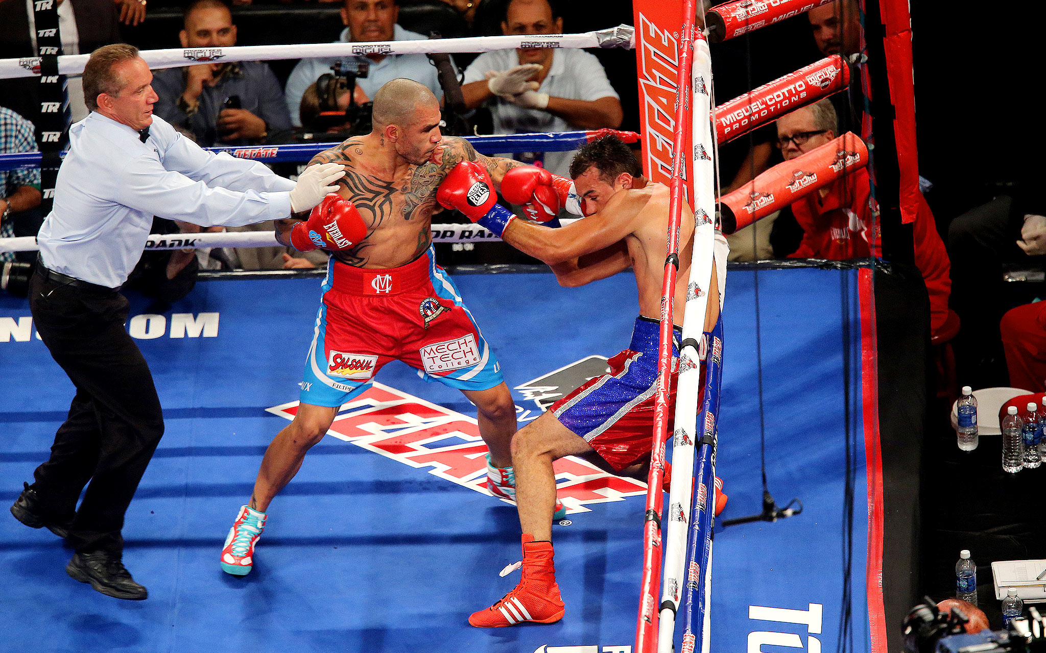 Clocked by Cotto