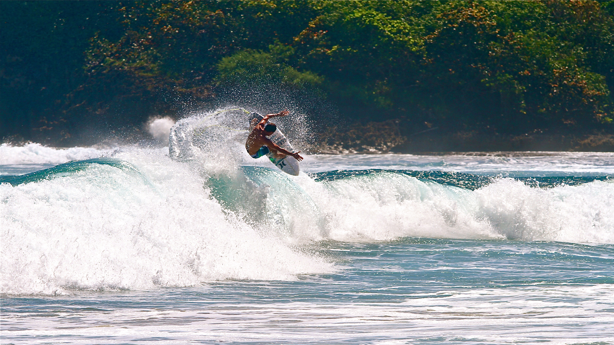 With the fall and winter surf season upon us, the Atlantic and Caribbean are once again seeing signs of surf. In Puerto Rico Brian Toth and friends are welcoming the waves back with arms wide open.