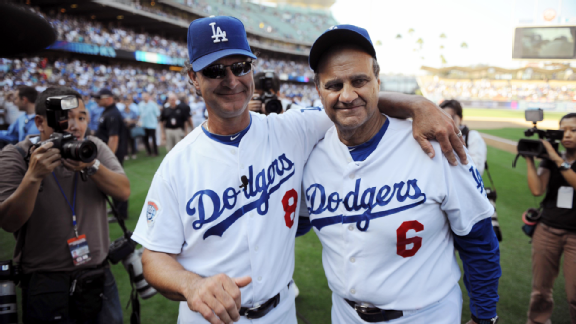 Joe Torre and Don Mattingly