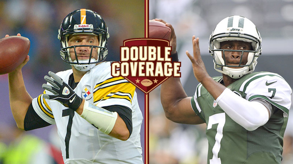 Ben Roethlisberger and Geno Smith