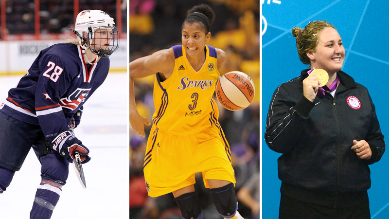Los Angeles Sparks All-Star Candace Parker won the Women's Sports Foundation Sportwoman of the Year (Team Sport) on Oct. 16. Check out the six worthy nominees.