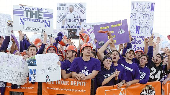 Northwestern game day