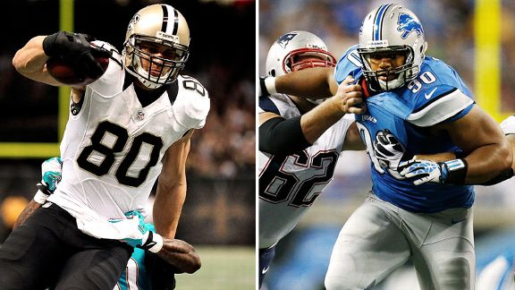 Jimmy Graham, Ndamukong Suh