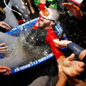 Red Sox Ice Bath