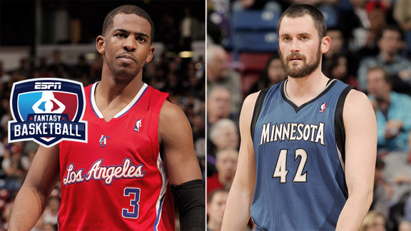 Chris Paul, Kevin Love