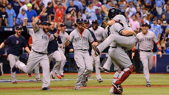 Tigers Survive, Red Sox Advance on Another Wild October Night