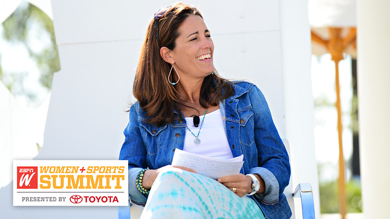 Julie Foudy: Leadership isn't a matter of chance, it's a matter of choice.
