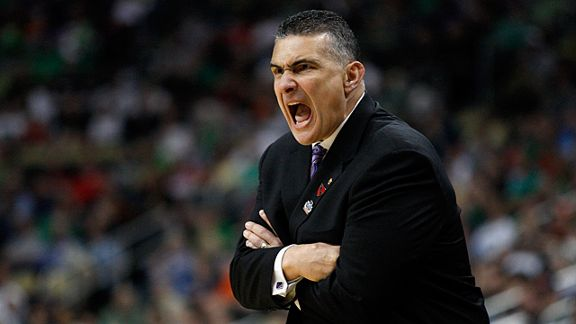 Frank Martin of the Kansas State Wildcats