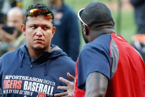 Miguel Cabrera and David Ortiz