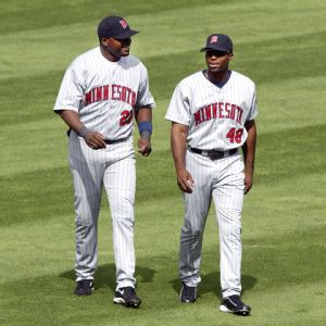 David Ortiz and Torii Hunter