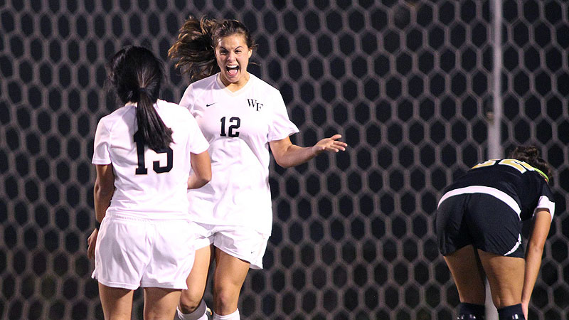 Katie Stengel, who led Wake Forest to the College Cup in 2011, likely has played her last collegiate game.