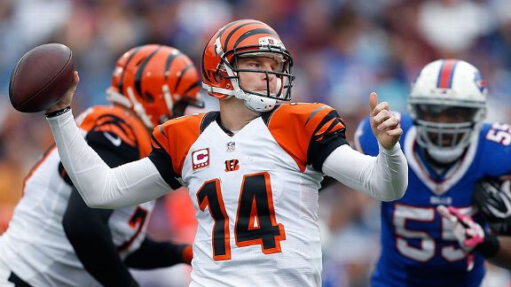 Dalton puts on blinders to lead Bengals