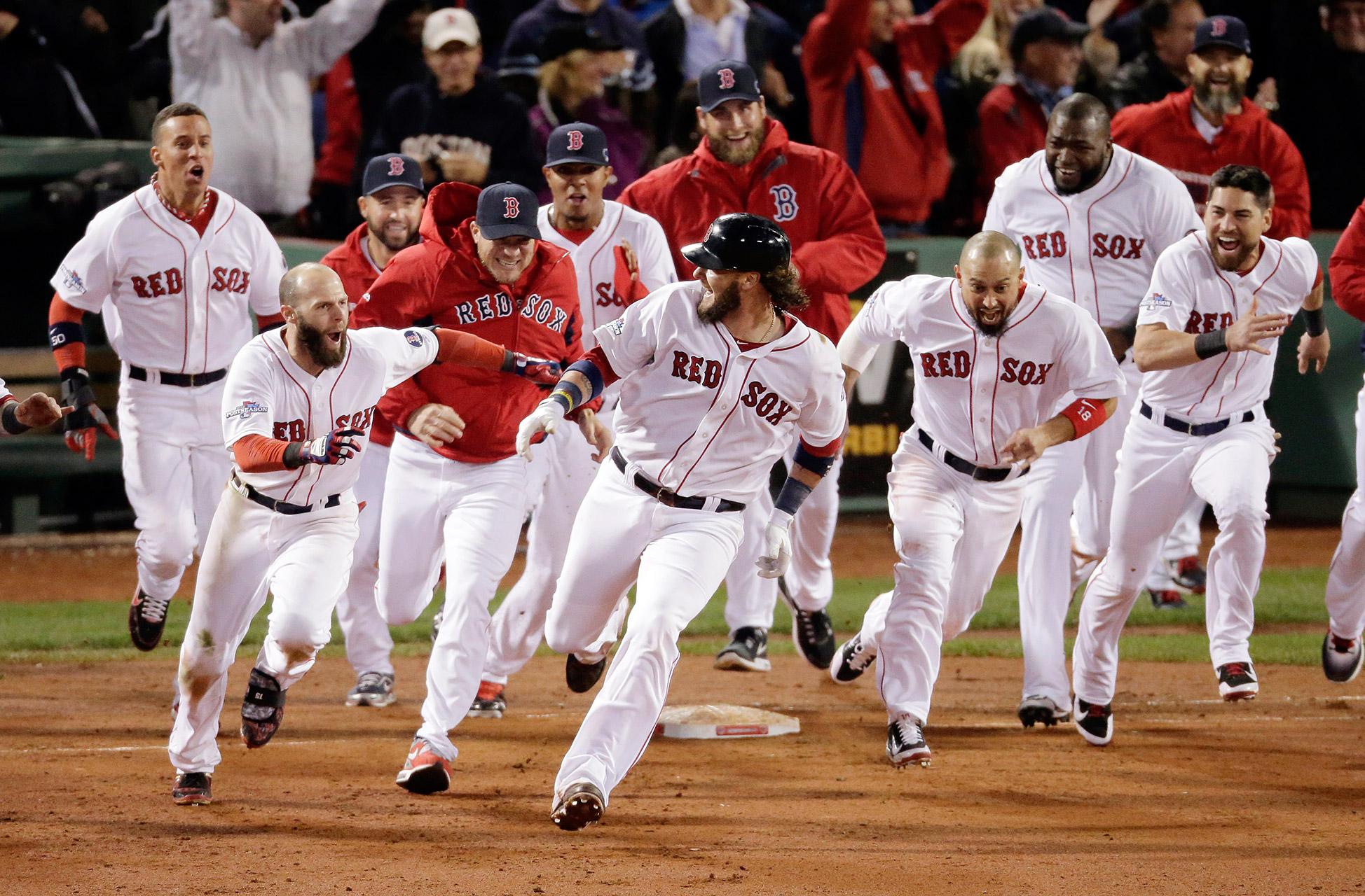 Boston Red Sox's Eduardo Nunez strikes out off Philadelphia Phillies  pitcher Drew Hutchison during the second