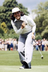 Nancy Lopez was dubbed the savior of women's golf as an amateur and then went on to win 48 LPGA titles during her career