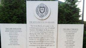 7 Blocks of Granite