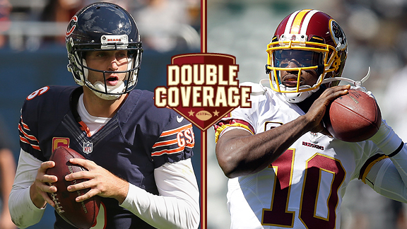 Jay Cutler and Robert Griffin III