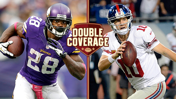 Double Coverage: Vikings at Giants