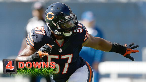 Four Downs: Minimal dropoff with Bostic?
