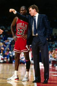 Doug Collins, Michael Jordan