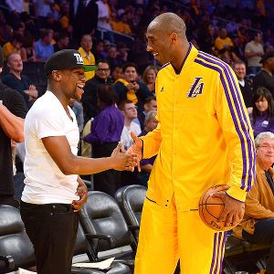 Floyd Mayweather and Kobe Bryant