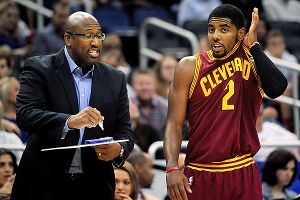 Mike Brown and Kyrie Irving