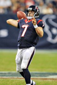 Texans name Keenum QB with Schaub out