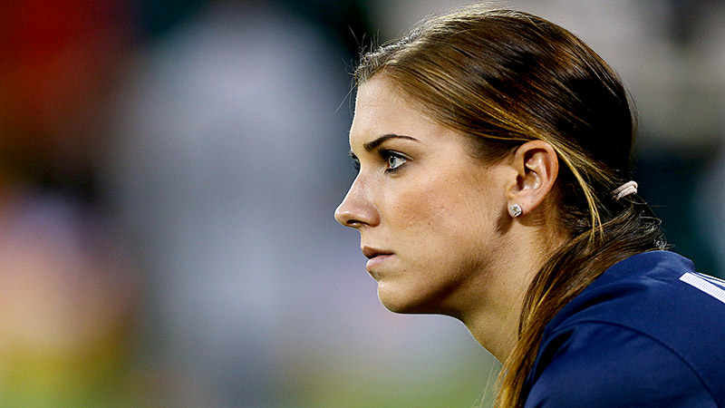It's not easy to catch Alex Morgan sitting still. From training to writing to playing -- on the field and off -- the soccer star prefers activity.
