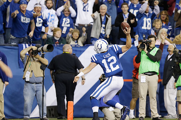 Andrew Luck hands Peyton his first loss of the season in